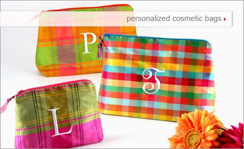 Shop for personalized cosmetic bags by Objects of Desire