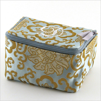 personalized brocade jewelry case by Objects of Desire