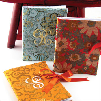 personalized brocade photo album