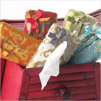 Brocade Tissue Cases by Objects of Desire