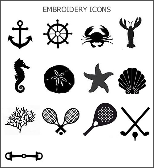 embroidery icon choices-click to enlarge