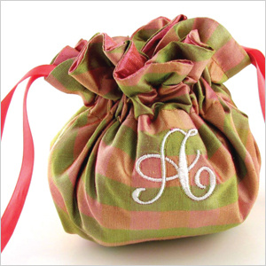 SALE!  Laminate Print Jewelry Pouches