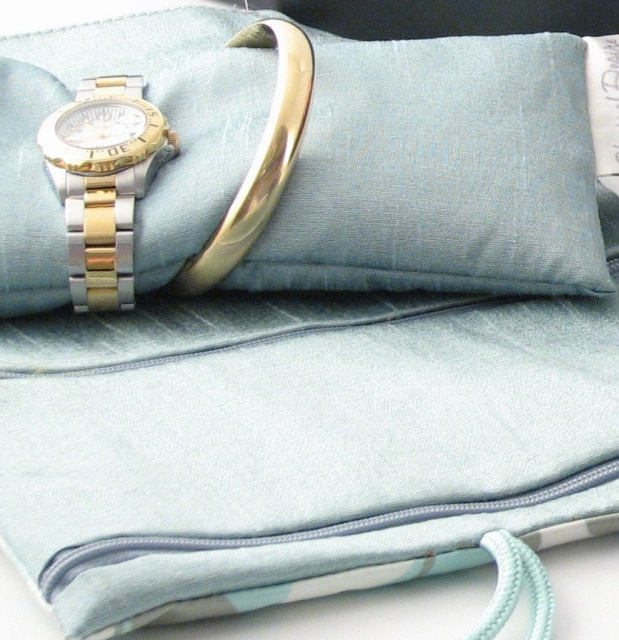 travel jewelry roll bracelet holder