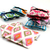 printed cotton drawer sachet  s/2